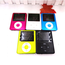 New Arrival Third Generation MP3 MP4 Super Slim 1.8″ LCD Display Screen Music Player Support TF SD Card Exquisite Gifts