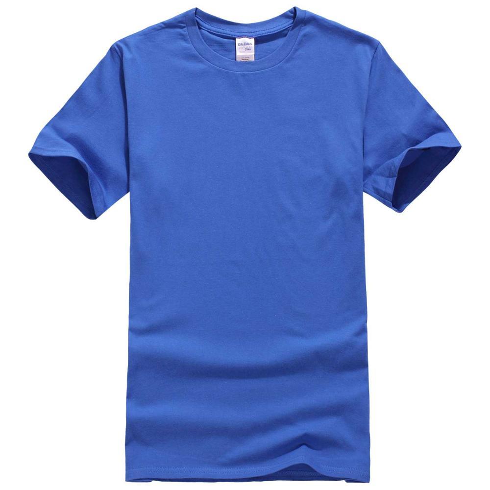 Nouveau À Manches Courtes O-cou Solide Couleur T-shirt Occasionnel Hommes 442 #