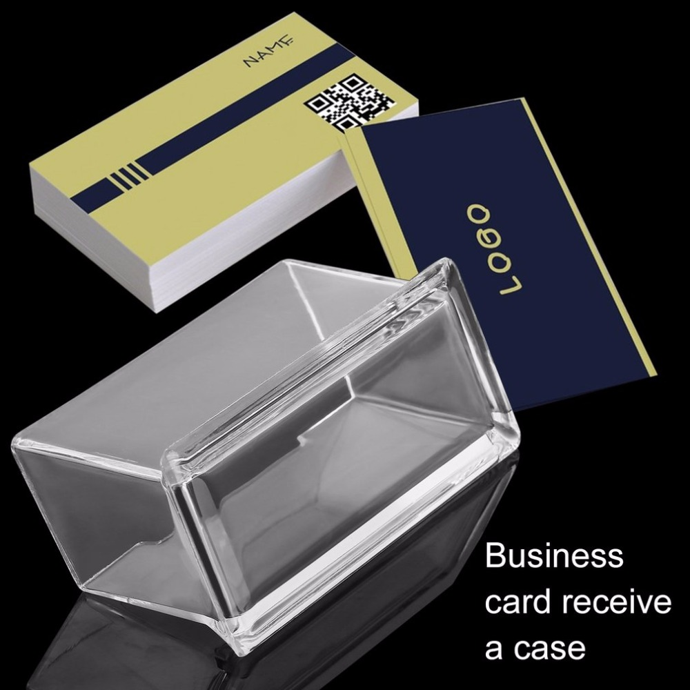 Business card display ebay images card design and card template business card display ebay image collections card design and card plastic business card holders ebay choice reheart Images