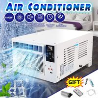 1100W Mini Portable Cooling Air Conditioner Free Installation USB Fast Charging Remote Control For Home Office Outdoor Industry|Air Conditioners|   -