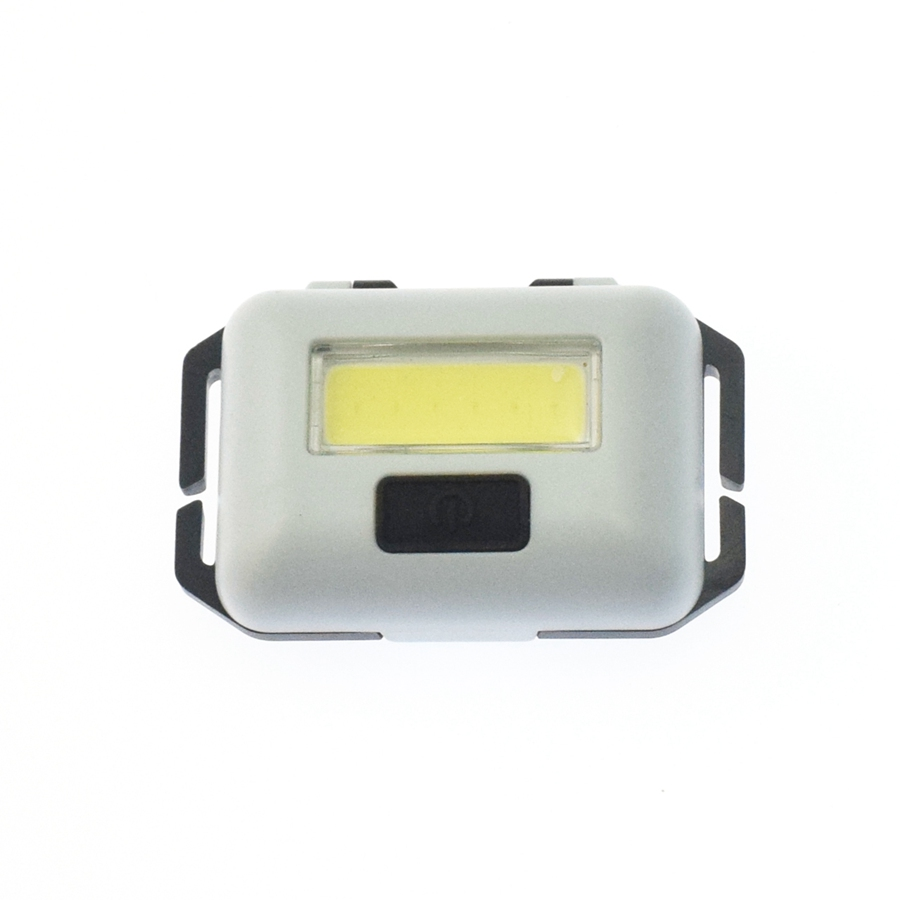 5 Colors Mini COB 3 Modes Head Lamp 3*AAA Battery Powered LED Outdoor Camping Hiking Headlights For Night Riding And Fishing