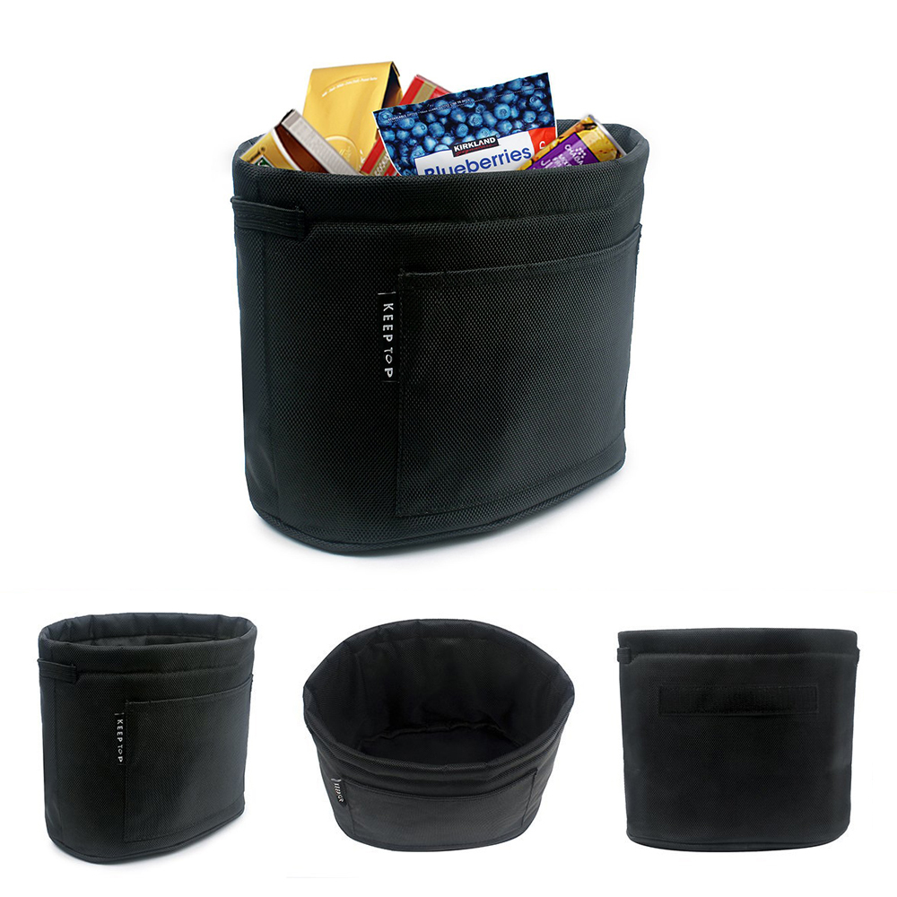sitaile car garbage can magic stick leak proof auto trash bin waterproof thick litter bag car. Black Bedroom Furniture Sets. Home Design Ideas