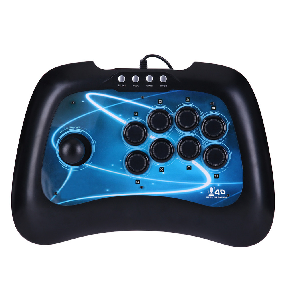 High Quality USB Fighting Stick Arcade Joystick Gamepad Controller for PS3 PC Android  USB Game Remote Controller for XBOX 360 стоимость