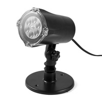5 Types Outdoor 4W 4 LEDs Projection Light Projector LED Spotlight LED Lamp For Party Holiday