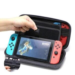 Image 2 - Caso portatile per Nintend Switch di Console EVA Carry Gioco di Stoccaggio Borsa Da Viaggio Duro Borsette Del Sacchetto per Nitendo Interruttore NS Accessori