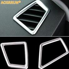 ABS хромированная крышка выхода кондиционера автомобиля аксессуары для peugeot 308 T9 SW заднего вида 5 дверей