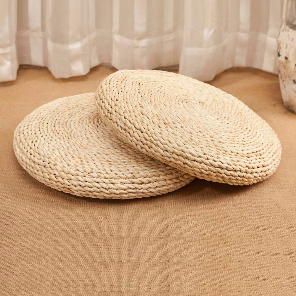 popular japanese style futons buy cheap japanese style futons lots corn bran straw seat cushion handmade round futon cushions japanese style tatami home decor free shipping