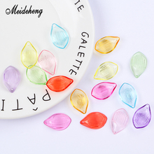 Acrylic Transparent Flower Lotus petals Home Decor Accessory Hair Bracelet ornament jewelry accessories handmade materials