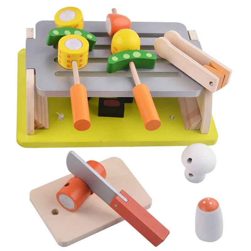 척 장난감, 부모-자식 상호 작용 나무 장난감 어린이 - 역할연기 - 사진 2