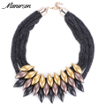 2017 Hot Sale Design Fashion Women Charm Choker Boho Necklace Collar Rope Chain Statement Necklaces Collier Femme Maxi Wholesale