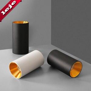 Image 4 - Montaj yüzeyi fuaye/balkon/koridor/yatak odası/restoran kısılabilir 7W 10W silindir Spot LED tavan işık 8*15cm