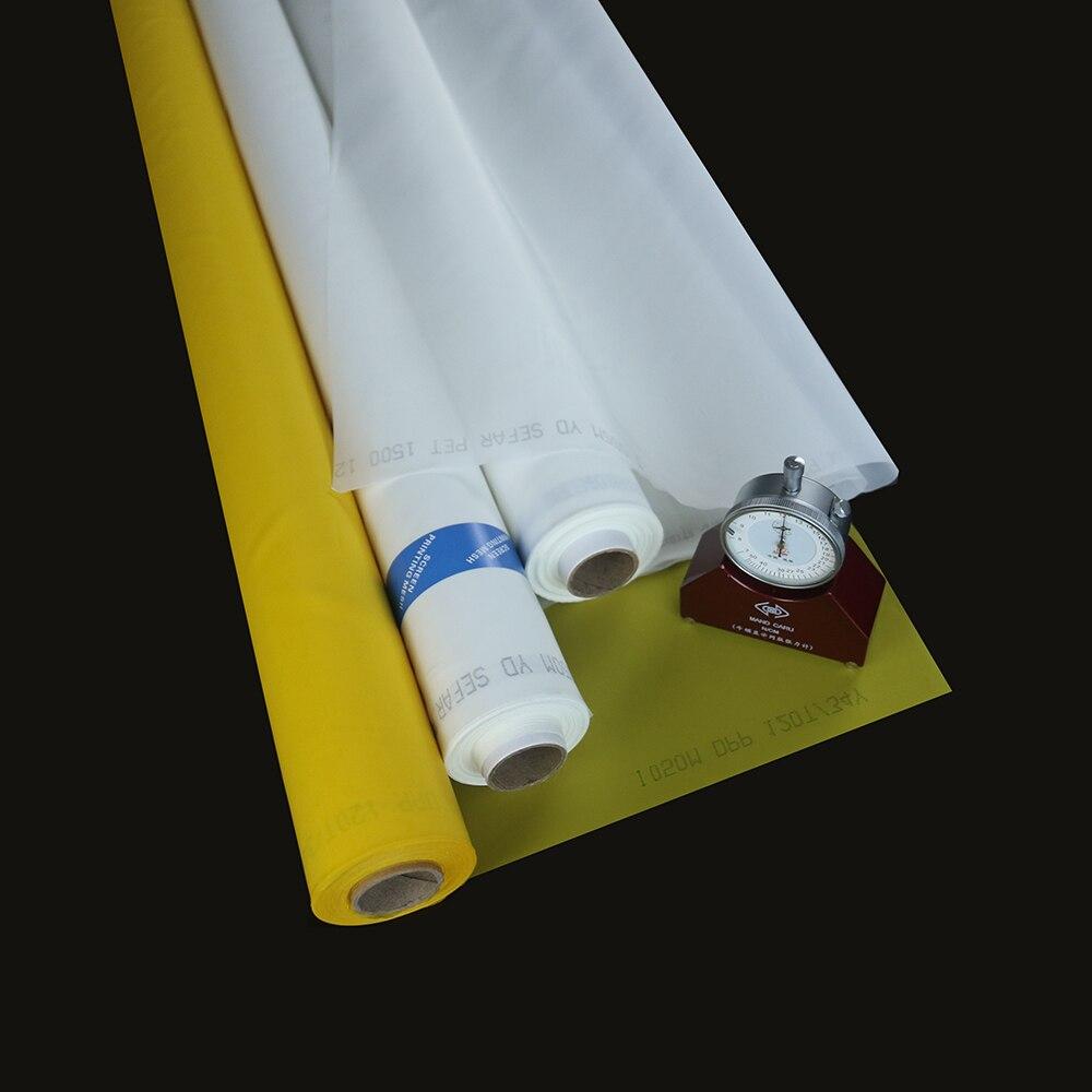 10 Yard 250 Monofilament Silk Screen Printing Mesh 100T
