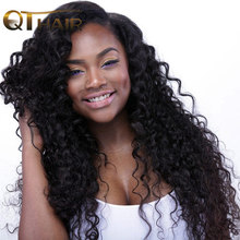 No Smell Brazilian Deep Wave Hair Weave Bundles Human Hair 100 Speedy Delivery No Tangling Non