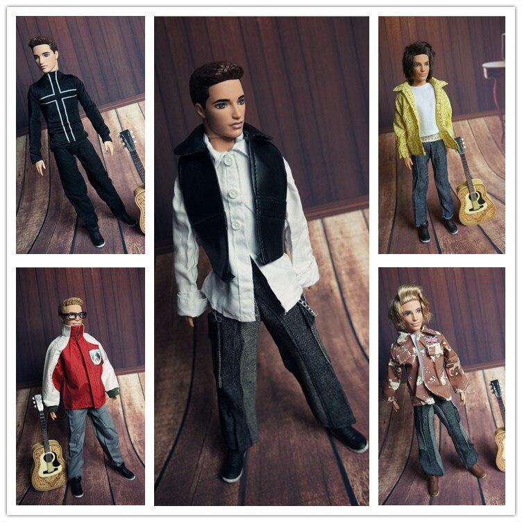 for barbie dolls boy friend clothes Ken Prince male doll clothes sportswear third wave