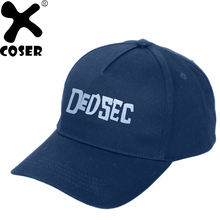 XCOSER Gift Watch Dogs 2 Hat Navy Casual Adjustable Marcus Holloway Cosplay