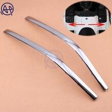 1 пара хромированных лент для украшения мотоцикла, части для подключения обтекателя, бант в форме Strake для Honda GoldWing GL1800 2001-2011 GL1800