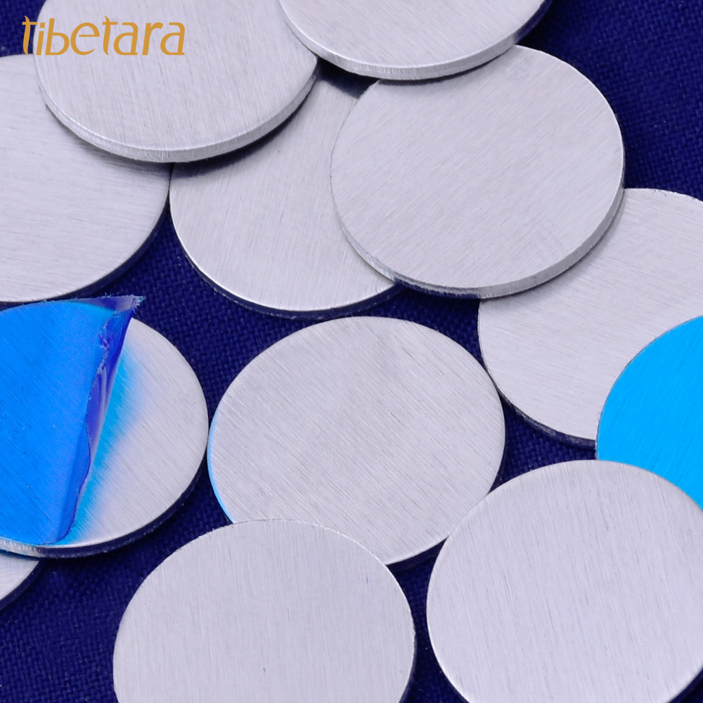 18 Gauges Round Metal Blanks Stamping Discs,aluminum Stamping Blanks,8 To 27MM Available,20 Pieces/lot