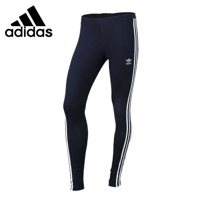 Original New Arrival 2017 Adidas Originals  Women's Tight  Pants Leggings Sportswear adidas original new arrival official women s tight elastic waist full length pants sportswear aj8153