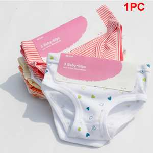 Panties Underwear Briefs Girl Cotton Cute Stripe Kid Print Comfort