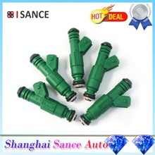 ISANCE 5Pcs Flow Matched Fuel Injector 0280155968 0280155968 For Audi BMW Chrysler Dodge Ford Mitsubishi Plymouth VW Lancia