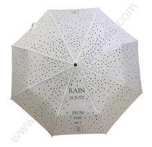 Ex-factory dostosowane OEM wiatroszczelna promocja logo drukowanie promocja parasol anti-thunder włókna szklanego reklama parasole tanie tanio Pongee Reklama parasol prezent parasol Metal Rain Roof Trzy składane parasol CU-XLS-F001 Dorosłych Wszystko w 1 Nie-automatyczny parasol