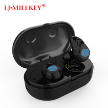 Bluetooth Earphones 5.0 TWS Mini Wireless Headset Stereo Deep Bass Earphone with charging box 800mAh Power bank YZ243 все цены