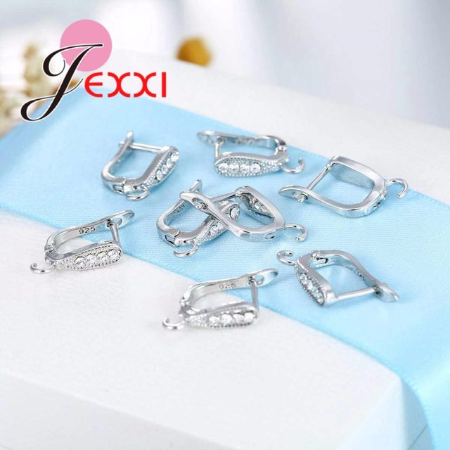Online Shop JEXXI Factory Price Fashion 925 Sterling Silver Hoop ...