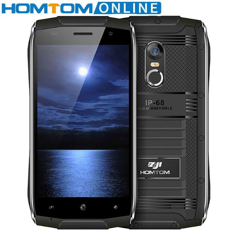HOMTOM ZOJI Z6 IP68 Waterproof font b Smartphone b font MTK6580 Quad Core 4 7 Inch