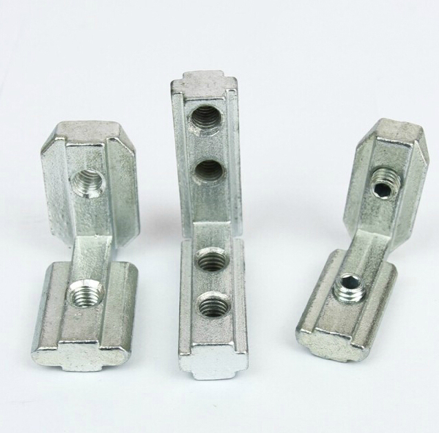 US $44 0 |Aliexpress com : Buy T Slot Interior Joint Angle Bracket for  Aluminum Profile Extrusion 40x40 Slot 8mm With Screw Free Connect Parts  from