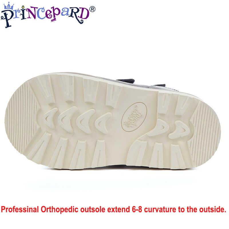 Princepard 2019 Musim Panas Sandal Ortopedi untuk Anak-anak Dilengkapi dengan Profesional Sol Ortopedi Anak Laki-laki Sandal Musim Panas Sepatu