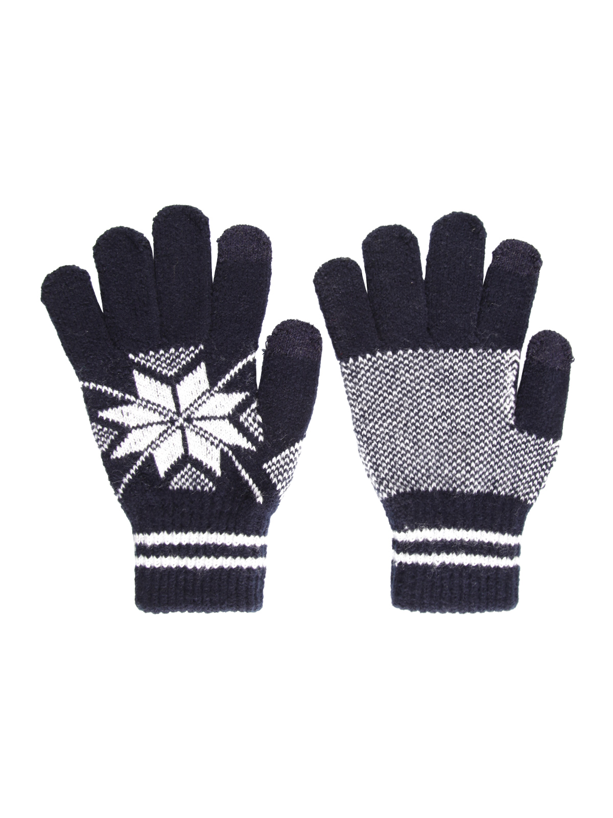 Knitted Gloves Touchscreen