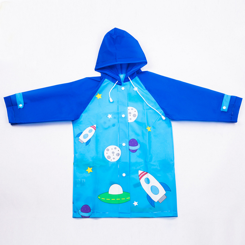 New childrens raincoat rain gear for boys and girls waterproof childrens raincoat baby student raincoat