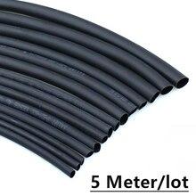 Heat-Shrink-Tube Connector-Repair DIY 6mm 5mm 9mm 8mm Black 2mm 3mm 7mm 1mm 4mm 5meter/Lot