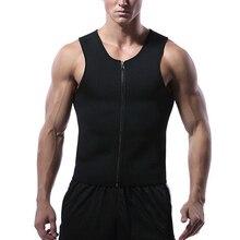 Cainiao super economy new font b men s b font hot sauna sweat clothing vest body