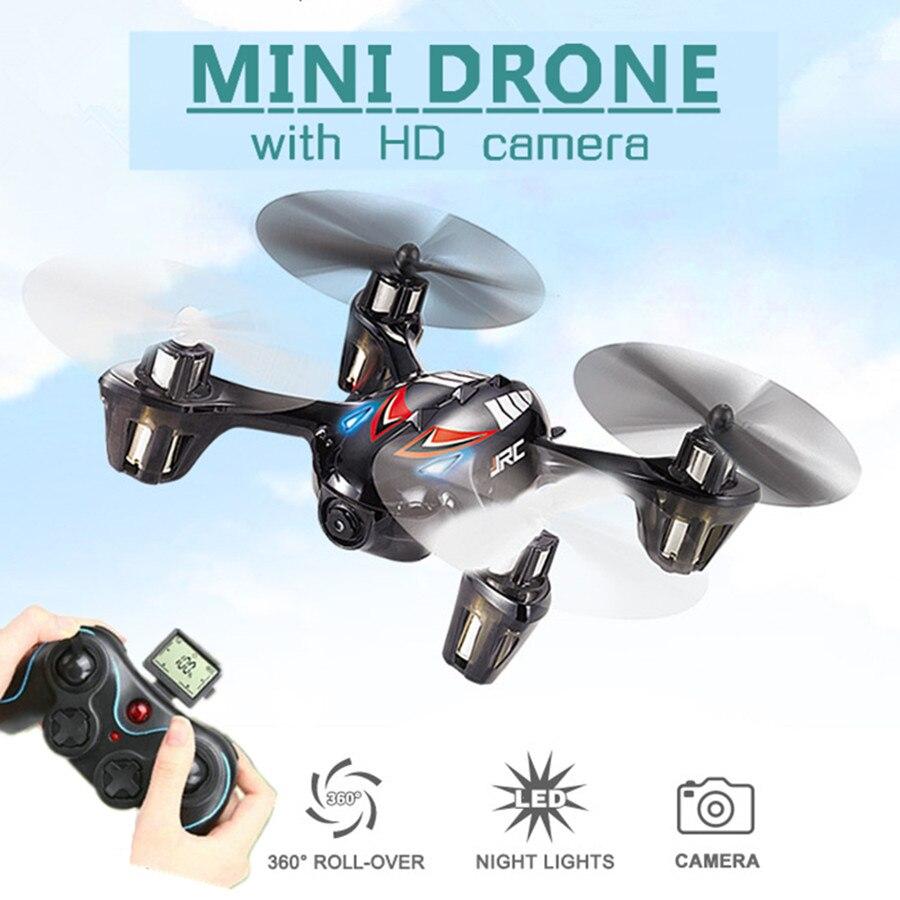 Mini drones con cámara de 2mp hd h6c + sd micro volar helicóptero de la cámara 4