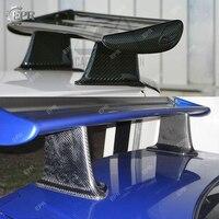 Автомобильный Запчасти для Nissan R34 GTR Skyline JUN углеродного волокна высокого спойлер ногу средства Аксессуары