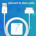 De alta calidad de sincronización de datos cable de carga rápida usb teléfono móvil carregador sólo para iphone 4 4s ipod ipad cargador