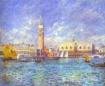 modern art paintings Doges Palace Venice hand painted art by Pierre Auguste Renoir High quality