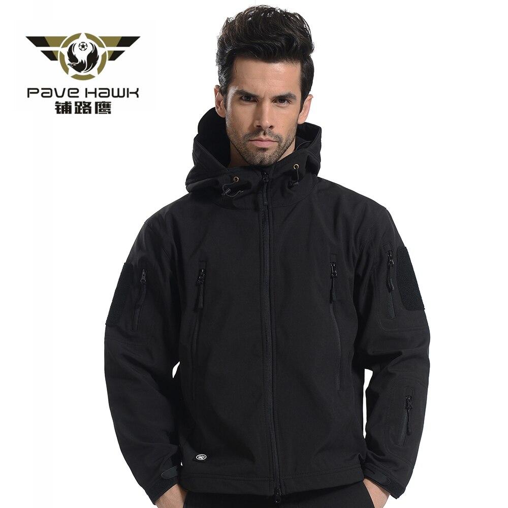 Softshell veste hommes polaire imperméable coupe-vent chaud hiver Camouflage coupe-vent randonnée chasse manteau veste militaire tactique