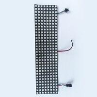32*8 pixel SK6812 RGB adressierbaren led digital flex panel licht  größe: 320 cm * 80 cm  DC5V eingang-in LED-Module aus Licht & Beleuchtung bei
