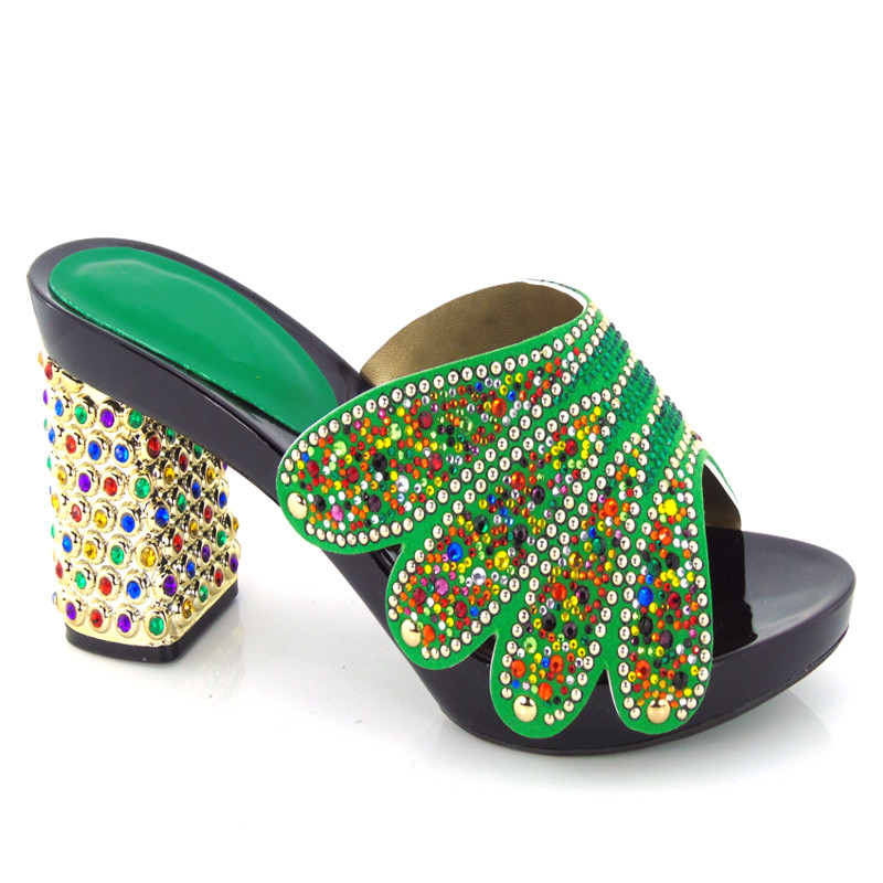 ФОТО Whoesale Elegant Women's Shoes Nice Looking African Sandals Shoes Free Shipping! HX1-29
