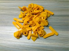 STARPAD For Tyre wear jacket Tyre Bird Head Accessories pads yellow 10 pieces lot