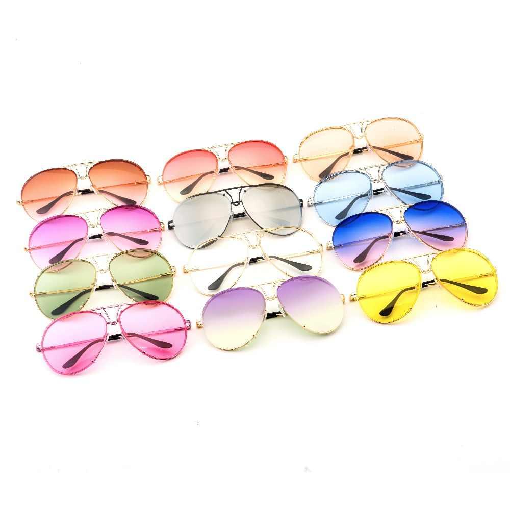 fe0f1ccd5acd HAPIGOO модные классические леди негабаритных солнцезащитные очки пилота  Для женщин ...