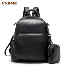 New women's backpack head layer cowhide retro style backpack manufacturers direct travel backpack backpack head backpack