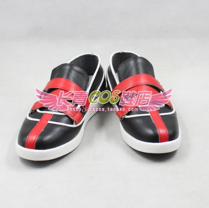 Kingdom Hearts ROXAS  cosplay shoes boots  Custom-Made