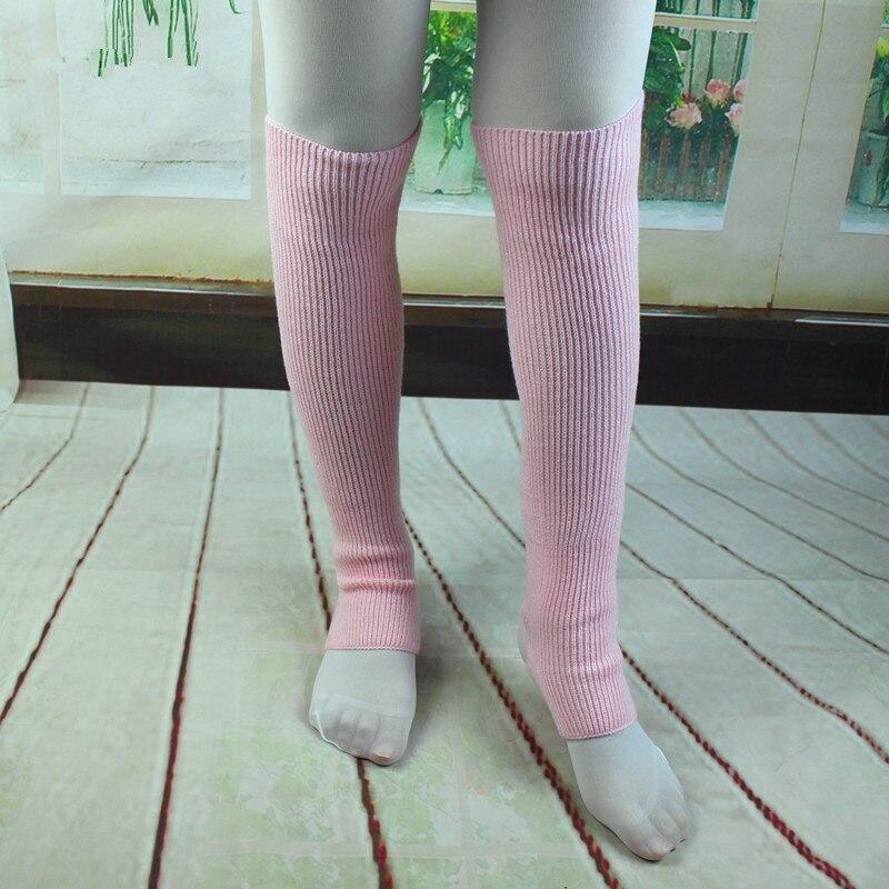 ✓3 colores Calentadores para piernas mujeres Niñas Punto de estribo ...