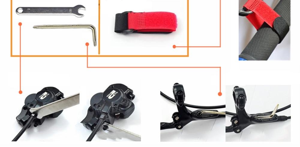 Bike Hydraulic Disc Brake Bleeding Tool Kit For Shimano TEKTRO MAGURA ZOOM ECHO