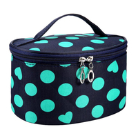 Water Resistant Dot Series Cosmetic Bag Portable Entrancing Multifunction Travel Cosmetic Bag Makeup Toiletry Bags Case Pouch Makeup Tools & Accessories