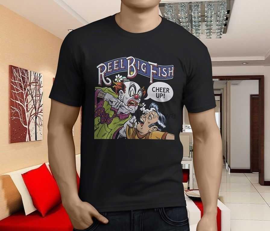 New Popular Reel Big Fish Candy Coated Fury Album Men Black T-Shirt Size S-3XL
