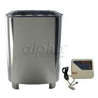 Free shipping 10.5KW380 415V 50HZ SUS Home SPA Sauna heater with DIGITAL controller CE standard to Europe country